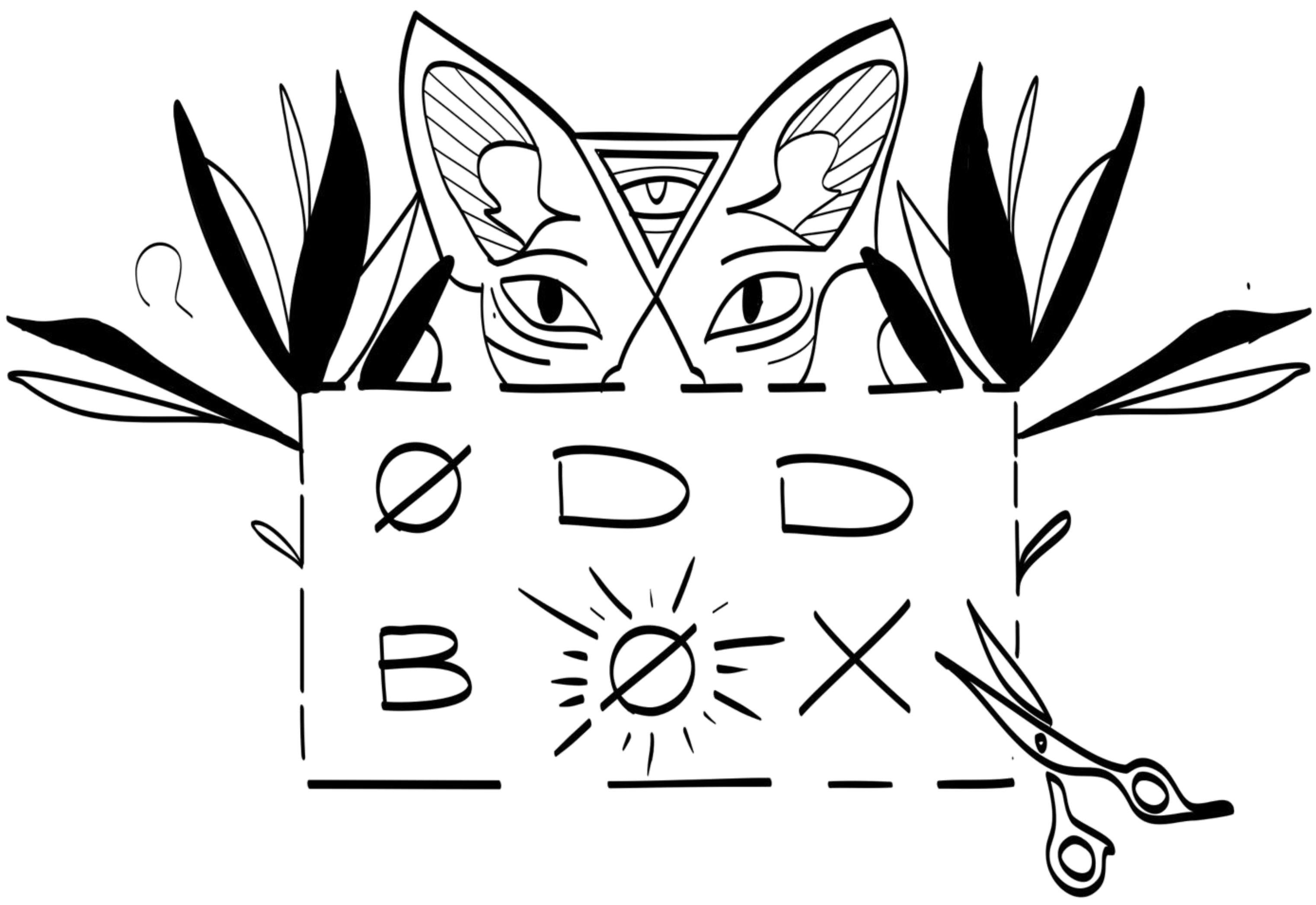 The Odd Box logo