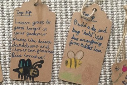 Bee Friendly Together tags